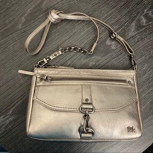 The Sak Champagne Metallic Shoulder Bag